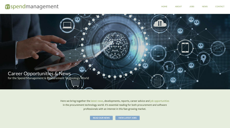 Blog - New Spend Management website